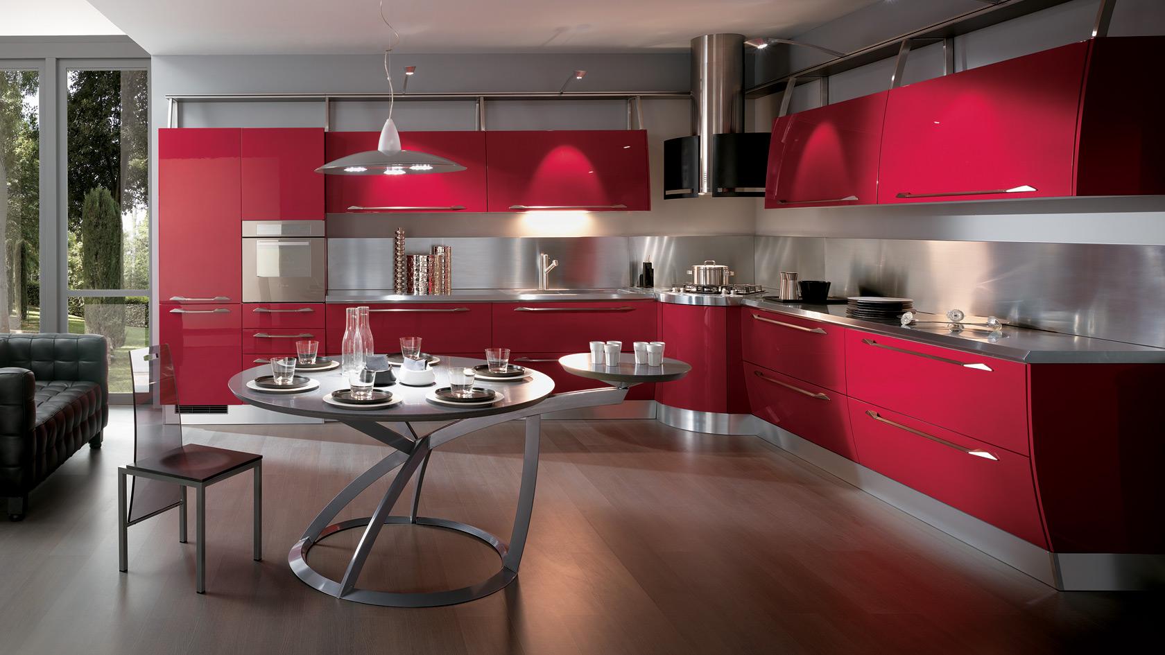 Le Cucine: Soluzione naturali, belle, piacevoli e resistenti (Foto)