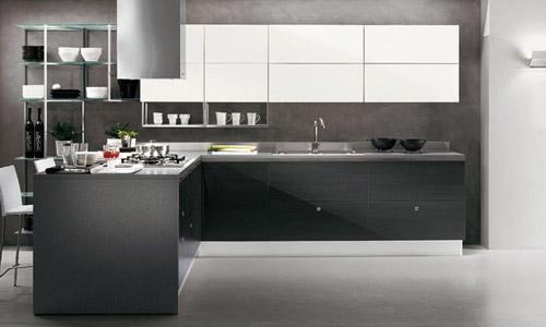 cucine grigie moderne: forum arredamento help cucina bianca ... - Cucine Bianche E Grigie Scavolini
