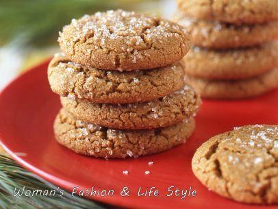 Orange-Ginger-Cookies..............................