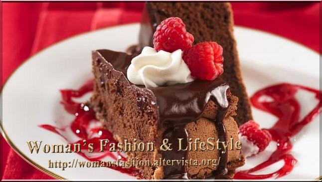 Torta cioccolato e lampone